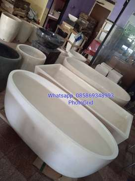 Bathtub standar terrazzo