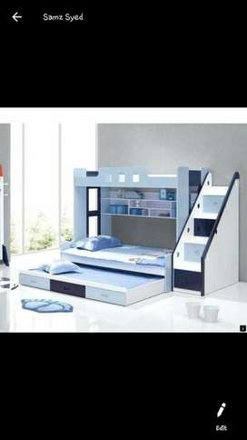 Deco bunk bed 3 in 1