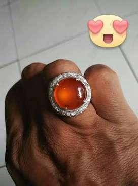 Cincin Batu Chalcedony