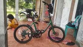 jual sepeda minion uk 20 upgrade