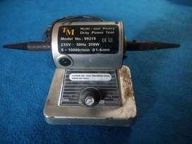 Mesin Poles Duduk 200 watt ada rpm control