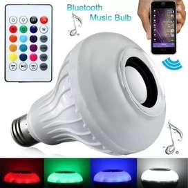 COD Lampu Speaker Bluetooth Remote 13 Warna Warni 12 Watt