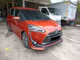 Dijual Toyota Sienta 1,5 Q AT th. 2016