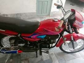 Honda 100 prider 2019 red