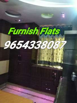Laxmi Nagar : Furnish 1,2 nd 3bhk flats on rent in laxmi nagar