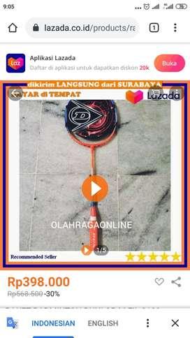 Raket Badminton Dunlop M-Fill 3100
