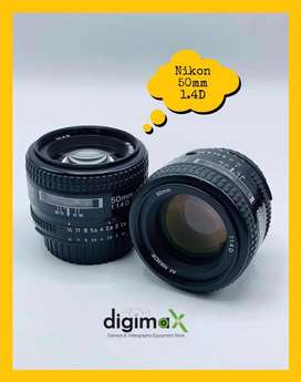Nikon 50mm 1.4D slightly used available