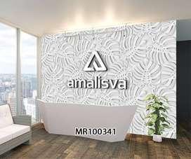 3D Wallpaper Dinding Bisa Request Gambar Hordeng Gorden Rumah Kantorv