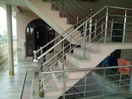 For sale house and godown with office and car parking