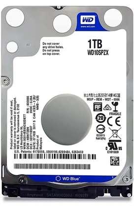 Hard drive 1TB For 2500