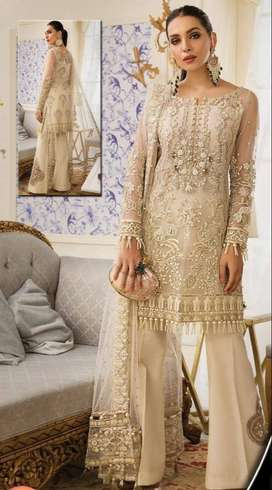 Gullal Fully Embroided Net Collection