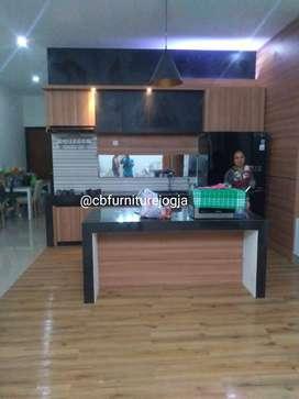 Kitchen set bahan Multiplek tebal , harga Terjangkau