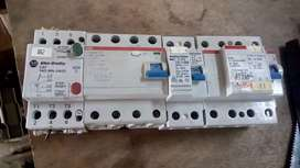 Siemens breakers  mcb and contactors and ACB 1000A