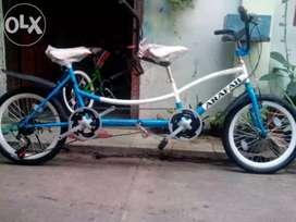 Sepeda tandem hadiah ultah anak
