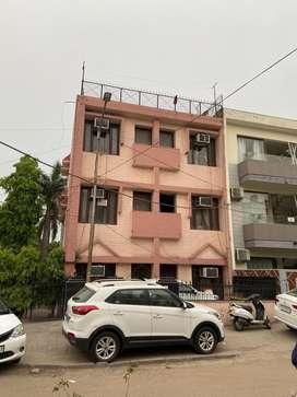 Independent 8 marla triple corner storey sector 22 b chandigarh