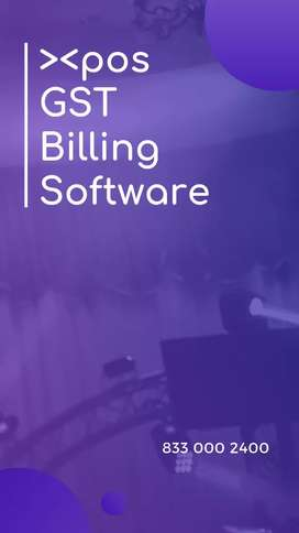 GST Billing POS software