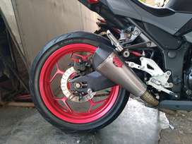 Swingarm ninja 250 fi delkevic carting