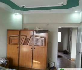 A Flat Is Available For Sale 3 bed DD Main Road Face West open N.khi
