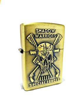 Korek api Zippo kantai minyak shadow warriors
