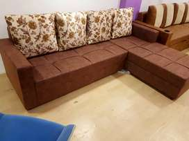 New L SHAPE SOFA  in direct factory price.