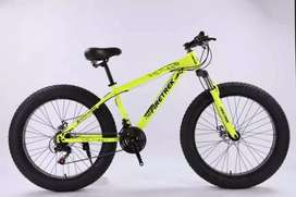 FIRE TREK 21 GEAR SHIMANO TZ NEW FAT TYRE CYCLE AVAILABLE