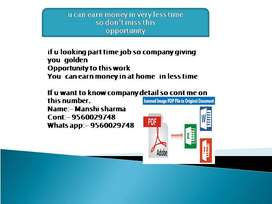 job offer for everyone who neet it