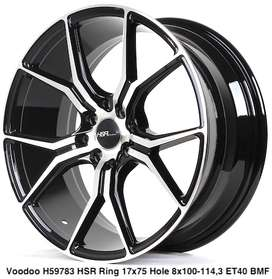 wheel VOODOO 59783 HSR R17X75 H8X100-114,3 ET40 BMF