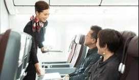 Vacancy for Cabin crew, Ground staff, Air Ticketing Executive  Qualifi