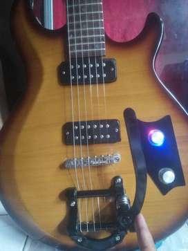 Gitar Yamaha elektrik antik korea upgreat istimewa