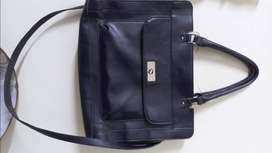 Merona Office Bag(Leather)