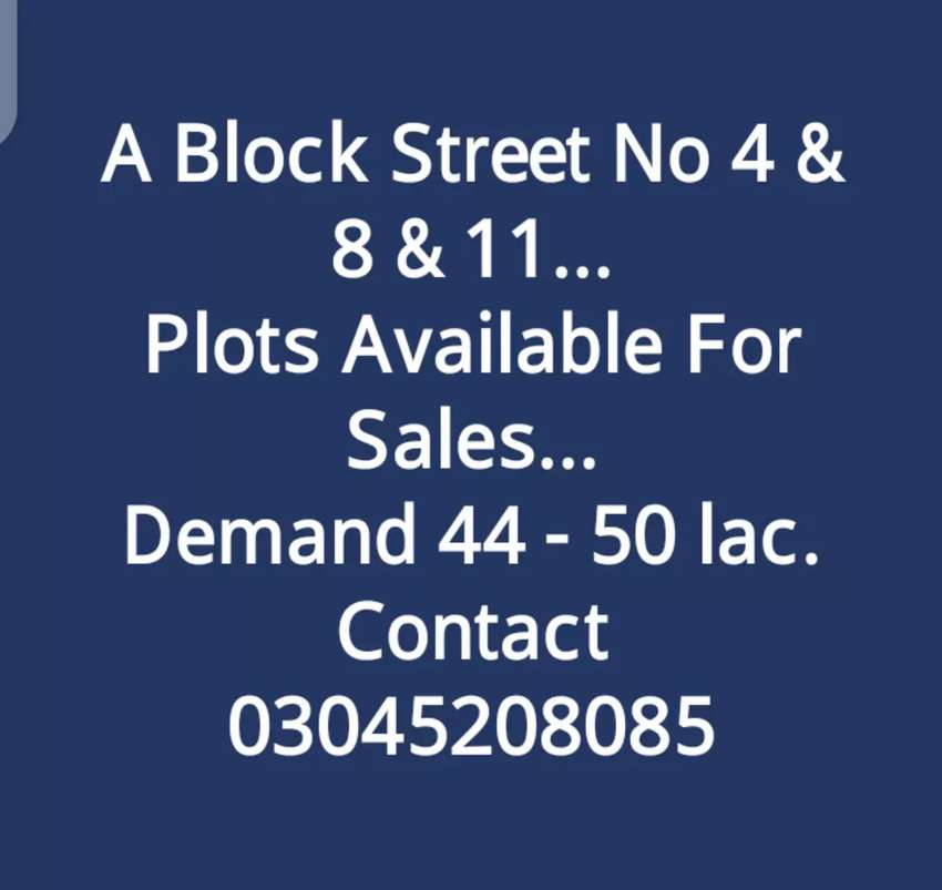 5 Marla A Block New City phase 2 wah Cantt 0