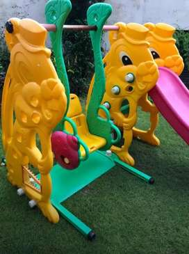 Kids slide and swing two in one for children with ladder