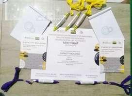 Cetak paket seminar kit desain gratis
