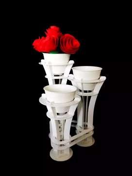Vas Bunga artistik untuk meja/interior anda