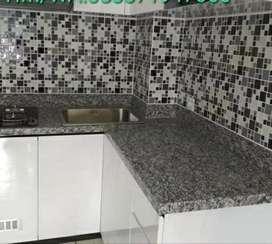 Marmer dan granit buat top meja dapur dll