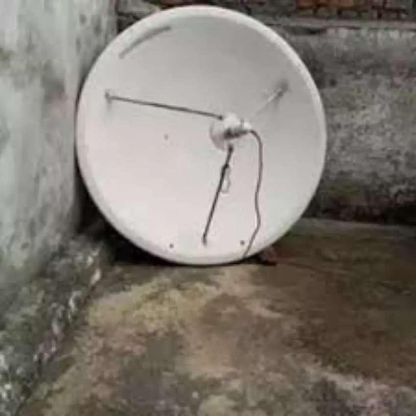 Dish antenna your network    call   0301- 693 0059