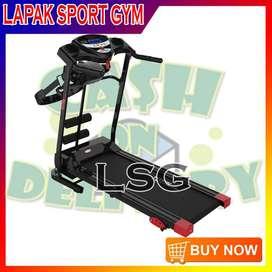 Alat Olahraga Fitness Treadmill Elektrik TL 629 Hitam