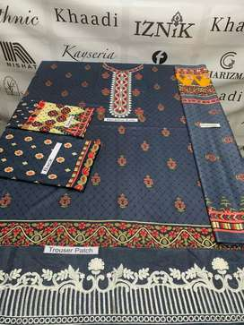 *Winter Collection 2021* Brand Baroque available in *Lawn* Fabric 3pc!