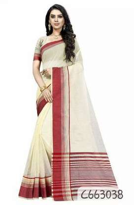 Bengali Cotton Silk Saree