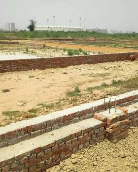 Plot in Gomtinager lucknow.