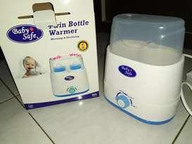 Baby safe penghangat susu dan sterilizer