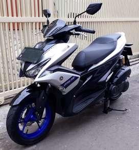 Yamaha aerox 155 type R 2019 plat bks kota