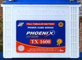Phoenix 185 ah tubular battery