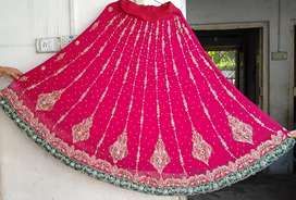 Wedding lehenga 9/10 condition only one time used