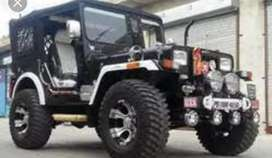 New modified Willy jeep