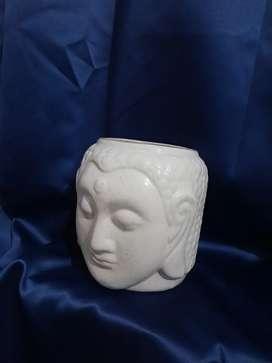 Ceramic Buddha planter