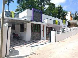 Single Storied House Njandoorkonam