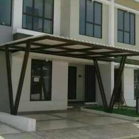 Kanopy atap alderon, desain rumah minimalis 0.5
