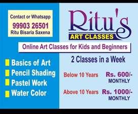 ritu's art classes