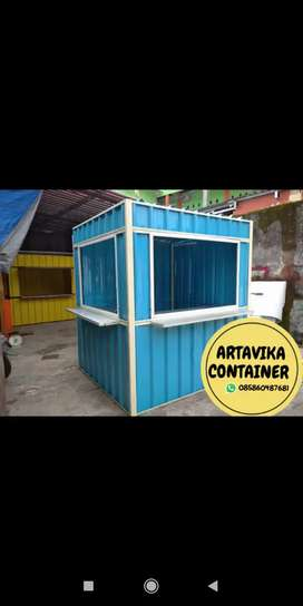 BOOTH SEMI CONTAINER,CONTAINER USAHA MAKANAN,CONTAINER CUSTOM